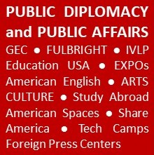 Public Diplomacy and Public Affairs word cloud