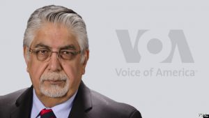 Akbar Ayazi, VOA's South Asia Division director. Photo credit: VOA